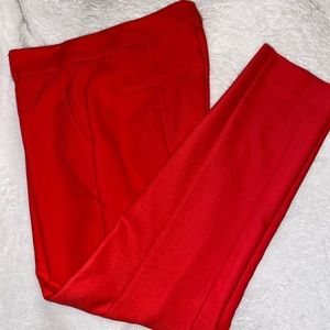 Size 4 columnist cropped ankle work pant